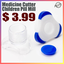 Medicine-Cutter Feeding-Tools Baby Storage-Box Pill-Mill Daily-Care Kids Children New