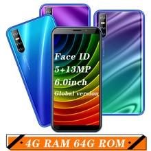 A51 android 5.1 handys globale 5MP + 13MP HD KAMERA Telefon Gesicht Id ENTSPERRT celulars quad core 3g 4G RAM 64G ROM smartphones