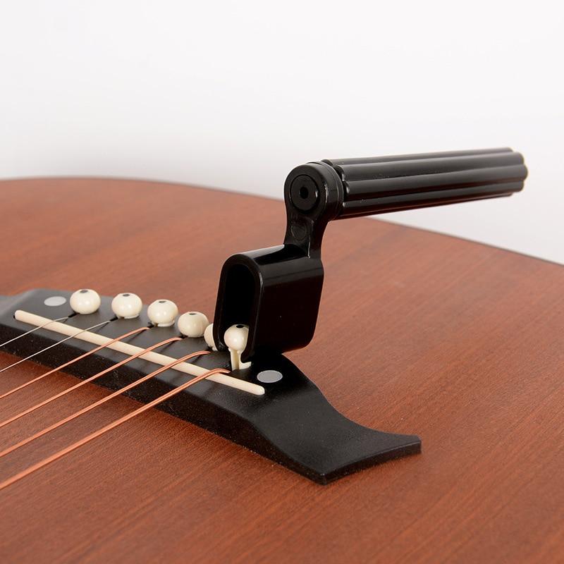 2 në 1 varg kitare kunja e urës heq kunjin tërheqës bas kitarë - Instrumente muzikore - Foto 3