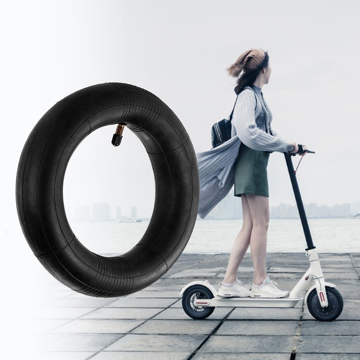 1Pc For Xiaomi Mijia M365 Scooter 8 1/2 X2 Thicker Tire Tyre Wheel/ Inner Tube