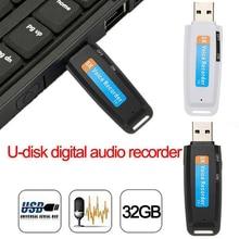 32GB מיקרו SD TF להאריך כרטיס דיגיטלי הקלטת U דיסק USB הקלטת עט מקצועי גרסה USB הקלטת עט מיני מקליט