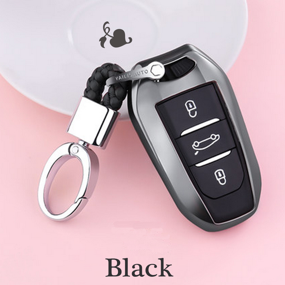 2019 TPU smart remote car key fob case cover for Peugeot 508 301 2008 3008 4008 407 408 Citroen C5 C6 C4L CACTUS C3XR DS