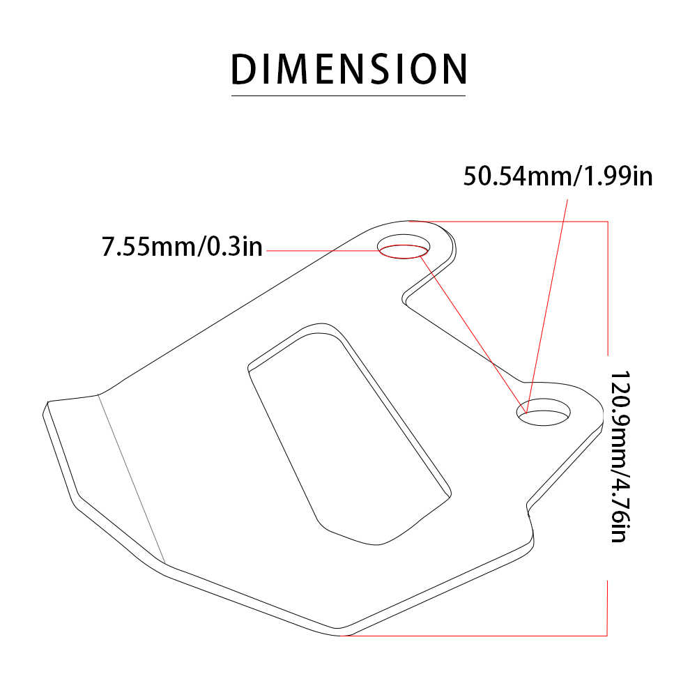 Sepeda Motor R1200R Kaliper Rem Belakang Penutup Penjaga Pelindung CNC Aksesoris untuk BMW R1200R 2015 2016 + 2017 2018 R 1200 r/RS/RT LC