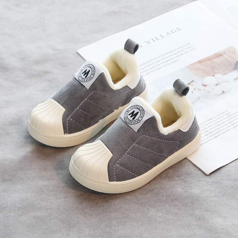 Anti-Collision Winter Warm Children's Cotton Shoes 4