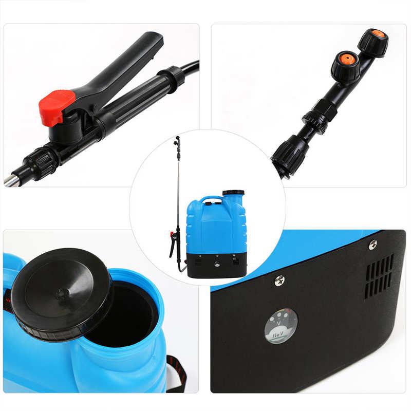 16L Electric Backpack Type Agricultural High Pressure Sprayer Gardening Tool 110V US Plug Paint Gun Garden Supplies-5