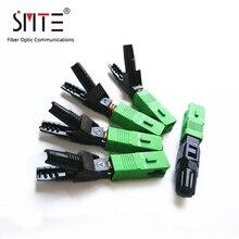 Empalmador individual SC APC, 60mm, APCNPFG 8802 TLC/3 XF 5000 0322 3, conector rápido SC/APC 0.2dB SM, fibra óptica, 100ppc/lote