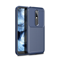 style protective For Nokia 4.2 Case Business Style Silicone Rubber Shell Coque TPU Back Phone Cover For Nokia 4.2 Protective Case For Nokia 4.2 (3)