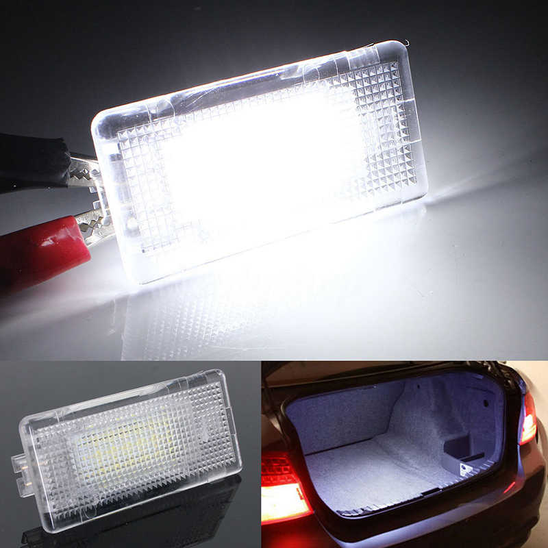 LED Footwell Luggage Trunk Boot Lampu CANBUS untuk BMW E39 E60 F10 E65 E81/E82