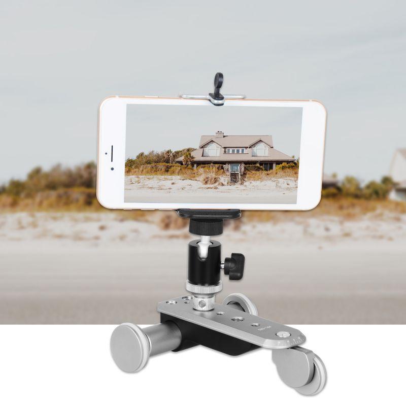 Avancée Ppl-06s Électrique Glissière Avec L'angle Réglable Rotule Téléphone Portable Micro Simple 5 Vitesse Réglable Caméra Voiture