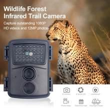 PR600 Jagd Trail IR Kamera 12MP HD 1080P LED Infrarot Nachtsicht Foto Falle Wildlife Motion Erkennung Überwachung Kamera