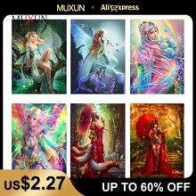 Muxun Art 5D Diy Diamond Mosaic Full Layout