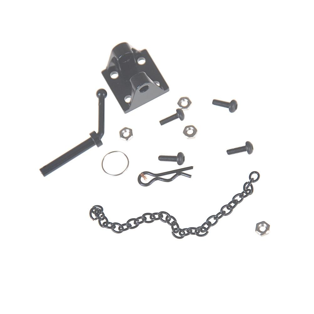 1:10 RC Rock Crawler Metal Tow Shackle Trailer Hook For Axial SCX10 90046 TAMIYA CC01 RC4WD D90 D110 TRX-4 Crawler Truck