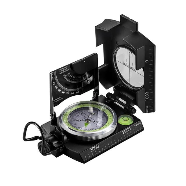Eyeskey Mulitifunctional Outdoor Survival Military Compass Camping Waterproof Geological Compass Digital Navigation Equipment 4
