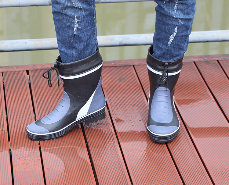 prova dwaterproof água sapatos de chuva curta