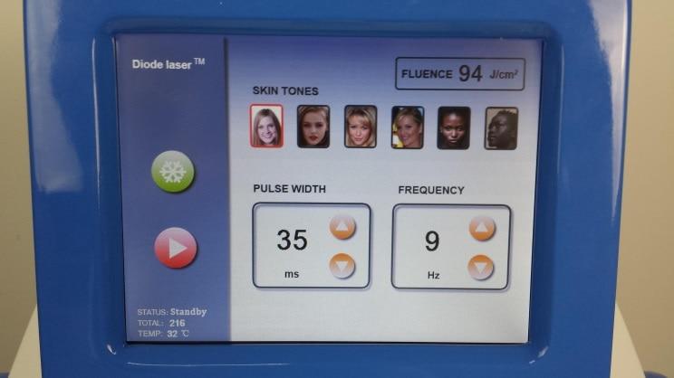machine screen