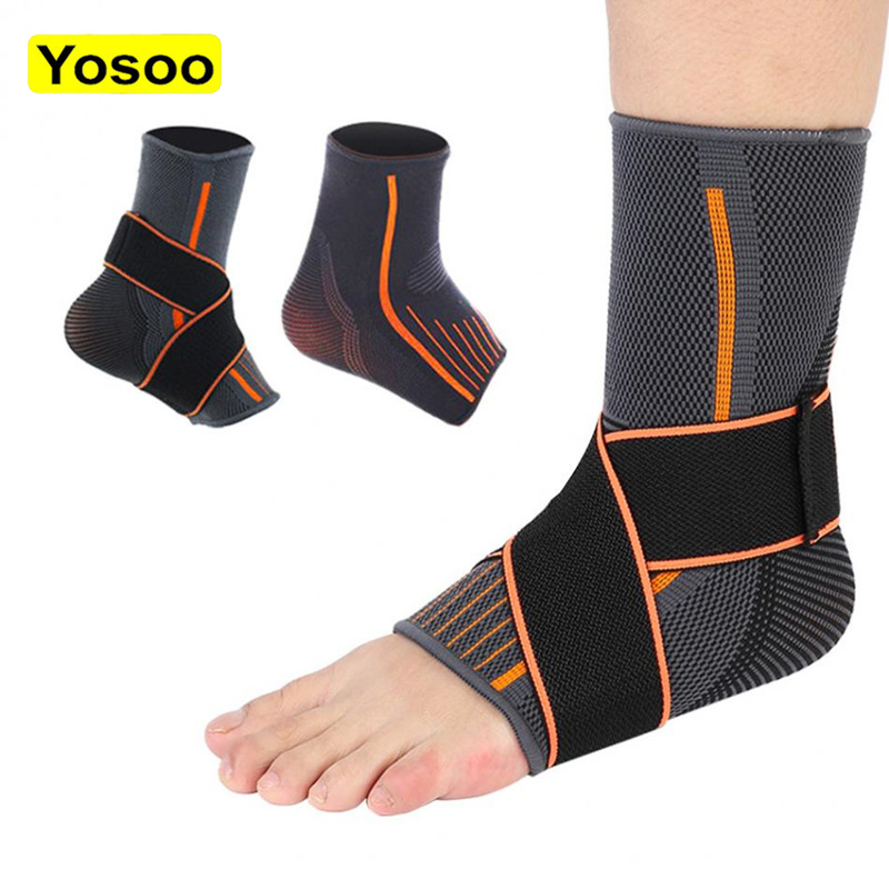 Ankle Support Brace Compression Breathable Foot Elastic Guard Strap Band Ankle Brace Supports for Women Men