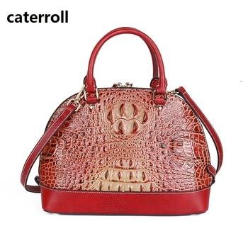 alligator pattern women handbag genuine leather bag 2019 luxury handbags women bags designer ladies real leather tote bag