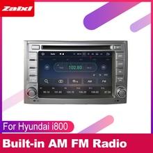 цена на ZaiXi For Hyundai i800 2007 2008 2009 2010 2011 2012 2013 2014 Car Android Multimedia Radio CD DVD Player GPS Navi Map System