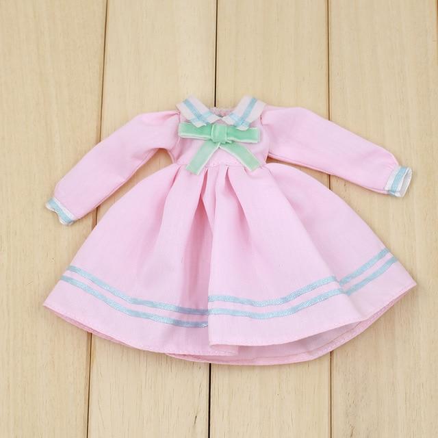 Neo Blythe Doll Elegant Pink Frock 1