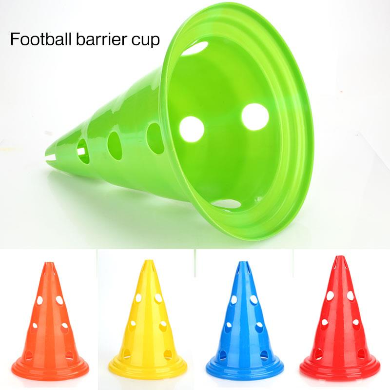 Prop Multicolor Marker Cones Soccer Marker Disc PE Convenient Marking Football Training  Barrier Court Outdoors Practice