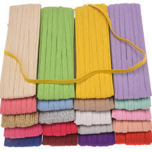 10Yards Mask Elastic Band Elastic rubber band Rope By Roll 0 6cm Hair band Thin Headbands Hair Accessories DIY Accessory cheap HARU COTTON Polyester Girls Children Fashion Solid ARoll 11