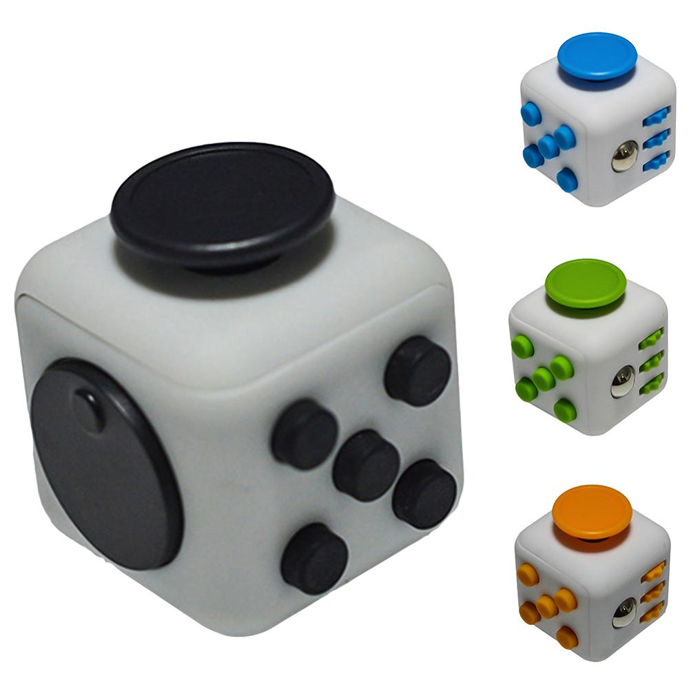 Creative Stress Relief Hand Toy Anti-Anxiety Magic Square Spinner Puzzle Cube Dice Adult Kid Desk Game Toy Gift For Children Kid