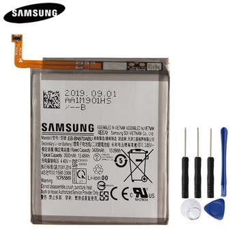 Original Phone Battery EB-BN970ABU For Samsung GALAXY Note 10 Note X Note10 NoteX 3500mAh Authentic Replacement Battery цена 2017
