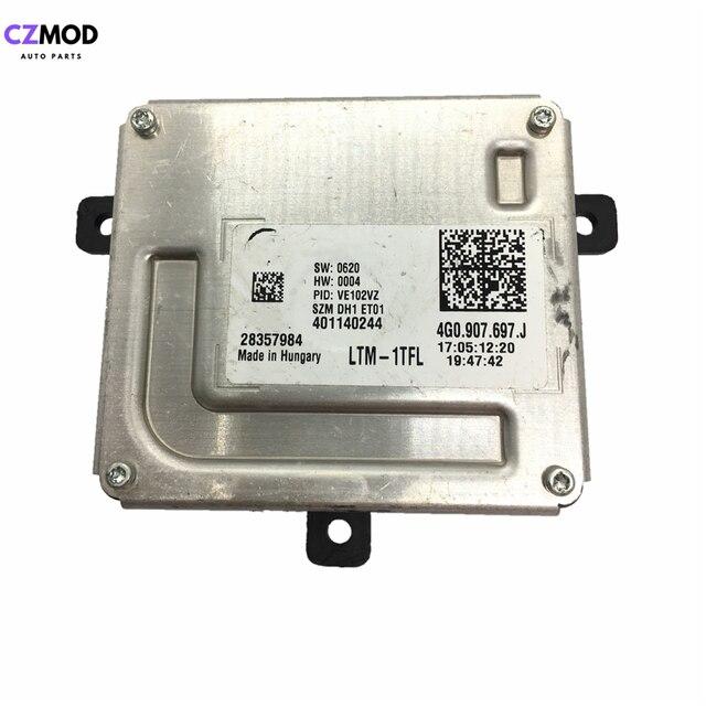$  CZMOD Original 4G0907697J 4G0.907.397.J Headlight LED Driver module DRL Ballast 28357984 28297183 4G0907397J 4G0.907.697.J used