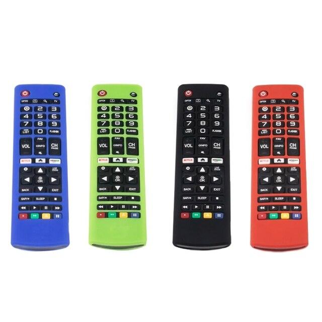 Chống Sốc Điều Khiển Từ Xa Ốp Lưng Silicon Bảo Vệ Cho L G AKB74915305 AKB75095307 AKB75375604 TV Từ Xa