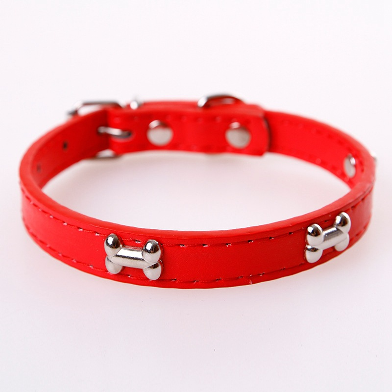 Pet Dog Neck Ring Fashion And Personality Pet Neck Circle Bone Neck Ring Pet Dog Cat Accessories