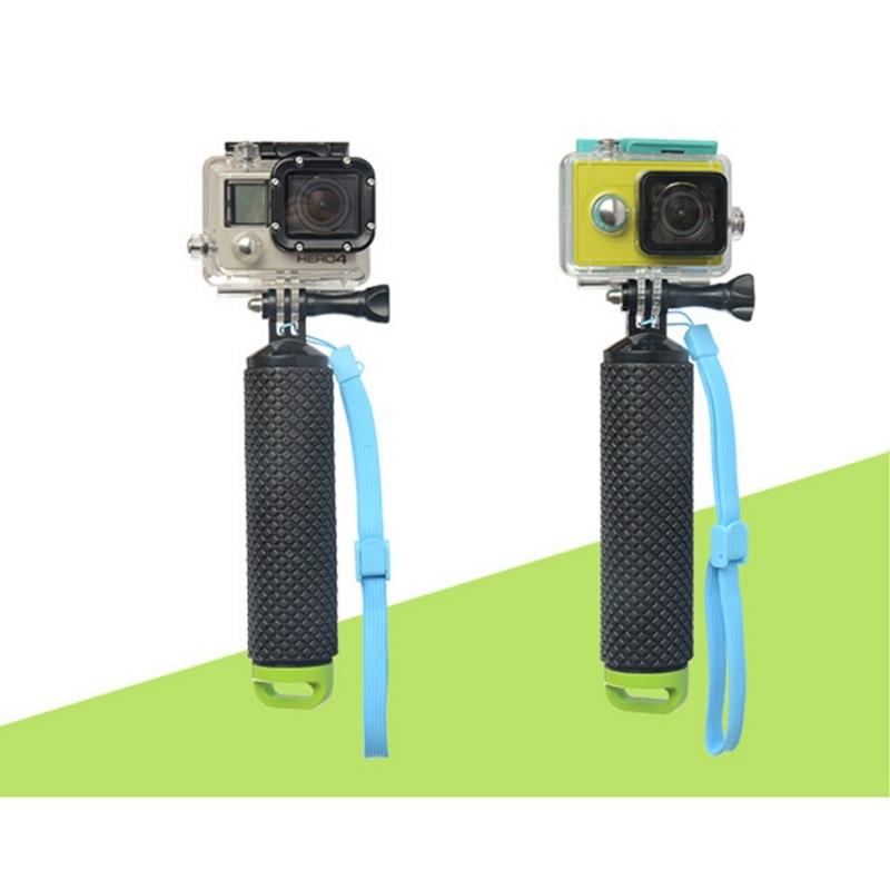 EDAL flotador agarre de mano Barra de flotación palo monopié trípode con correa de muñeca para Gopro Go Hero 5 Sport cámara de Acción