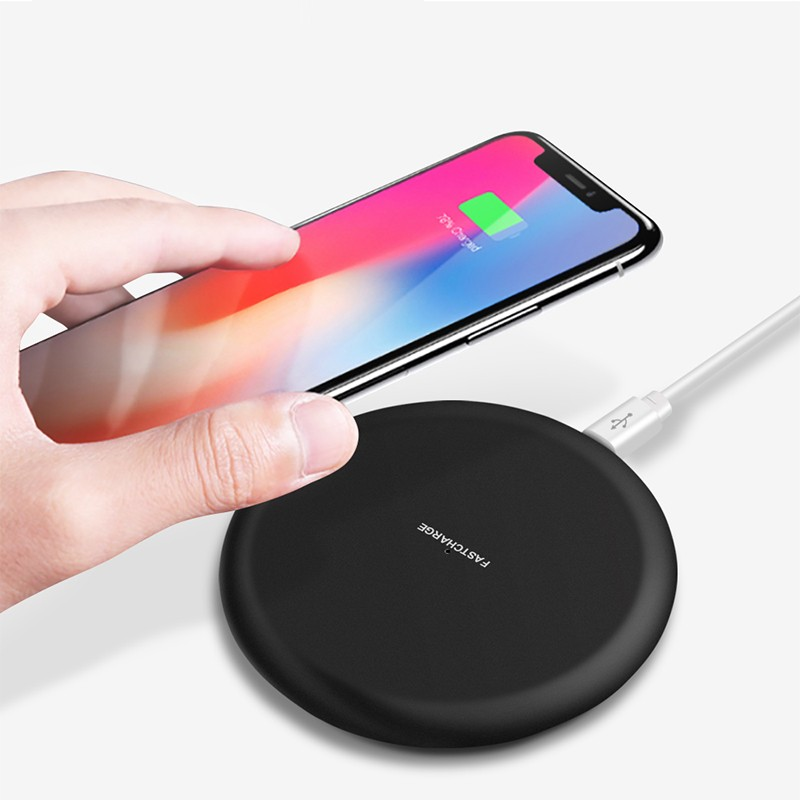 Qi Wireless Charger+ Type C Receiver Connector For Xiaomi Mi 8 Pro Quick Fast Wireless Charger For Xiaomi Mi 8 Lite|Wireless Chargers| |  - title=