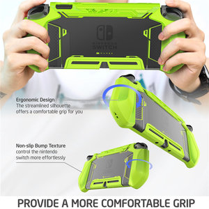 Image 4 - For Nintendo Switch Case MUMBA Series Blade TPU Grip Protective Cover Dockable Case Compatible with Console & Joy Con Controller