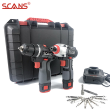 Screwdriver Drill-Bits Toolcase Electric Brushless-Drill Li-Ion-Batteries Cordless Impact