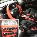 ل إنفينيتي QX70 FX35 FX37 ذاتية اللصق ملصقات السيارات ألياف الكربون الفينيل ملصقات السيارات والشارات اكسسوارات السيارات التصميم