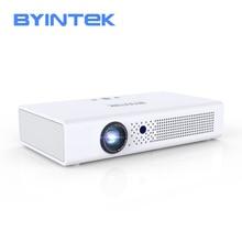 BYINTEK R19 DLP mini projector,support 3D 4K DLP display for Full HD 1080P HDMI,