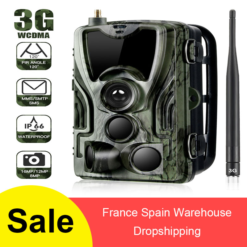 <font><b>HC</b></font>-801G 801LTE <font><b>700G</b></font> 801A Hunting Camera 16MP Trail Camera SMS/MMS/SMTP IP66 Photo Traps 0.3s Trigger Time 940nm LEDs Wild Camera image