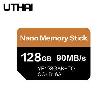 UTHAI J39 NM Card Read 90MB/s 128GB Nano Memory Card Apply For Huawei Mate20 Pro Mate20 X P30 Nova5 Pro With USB3.1 Type c - Category 🛒 Computer & Office