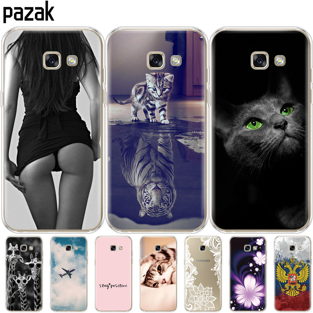Silicone Phone Case For Samsung A5 2017 Cases For Samsung Galaxy A5 2017 SM-A520F Cover For Samsung Galaxy A5 2017 Phone Shell