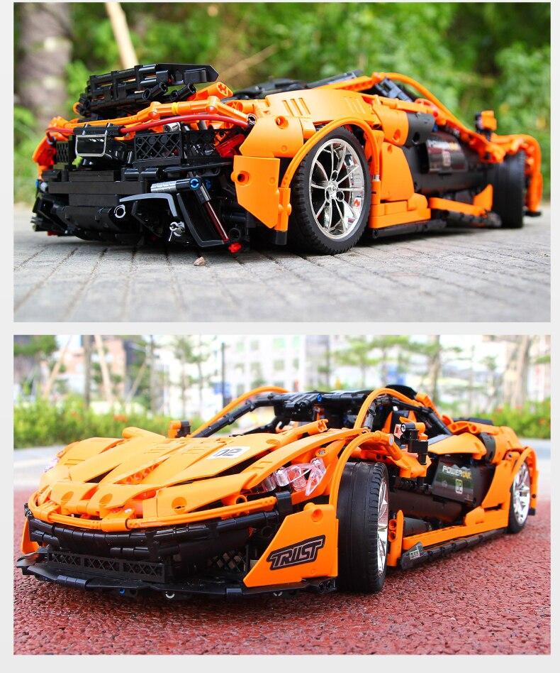 MOULD KING MOC 20087 Compatible 13090 Technic Series McLarening P1 hypercar Building Block 15