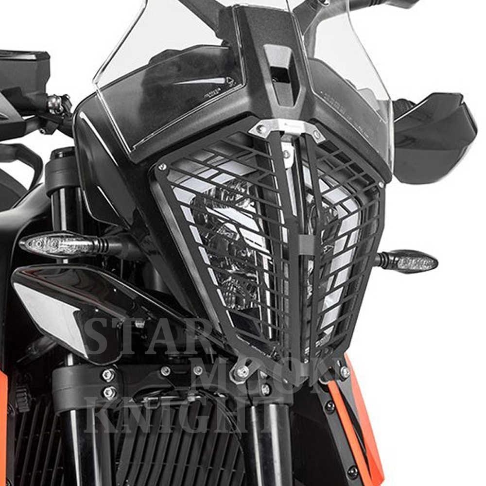 Color : Acrylic DKEKE Fit for K.T.M 790 Adventure//R//S Acryl Grill Motorrad-Scheinwerfer-Kopf-Licht-Schutz-Schutz-Abdeckung Schutz DKEKE