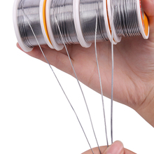 1PC 100g 0.6/0.8/1/1.5 2.0%Tin Lead Tin Wire Melt Rosin Core Solder Soldering Wire Roll No-clean