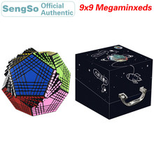 ShengShou Megaminxeds 9x9x9 Magic Cube Petaminxeds 9x9 Cubo Magico Professional Neo Speed Cube Puzzle Antistress Fidget Toys kid moyu mf9 cubing classroom 9 9 9 magic cube professional speed puzzle 9x9 cube fidget magico cubo educational toys kid gifts