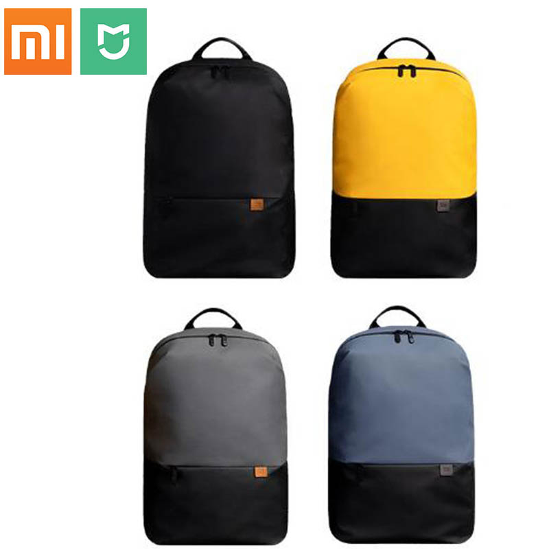 Original Xiaomi mi Classic Business Backpack 2 Generation Level 4 Waterproof 15.6inch Laptop Shoulder Bag Outdoor travelin image