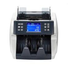Кассовый аппарат, интеллектуальный счетчик купюр с датчиком изображения, мультивалютный детектор фальшивых денег Billetes Falsos Luz Uv машина