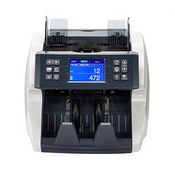 Cash Register Intelligent Bill Counter With Image Sensor Multi Currency Value Fake Money Detector Billetes Falsos Luz Uv Machine