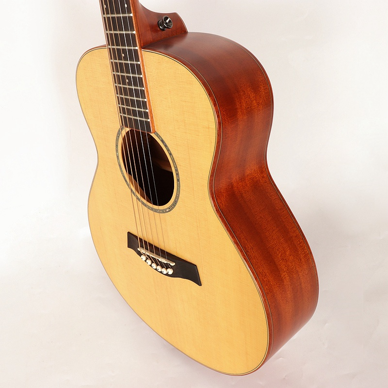 good sound <font><b>36</b></font> inch acoustic <font><b>guitar</b></font> 6 string 20 frets natural color full size folk <font><b>guitar</b></font> for middle and beginner <font><b>guitar</b></font> image