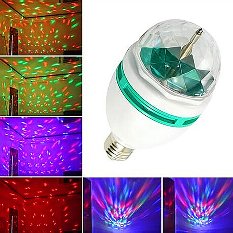 New LED Disco Stage Lights DJ Disco Ball Sound Activated Laser Projector Romantic Effect Lamp Light Music Christmas Party Light