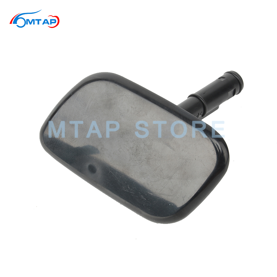 Headlight Washer Nozzle Cover Cap For Hyundai For Santa Fe 2009 2010 2011 2012  Front Bumper HeadLamp Washer Lid|Car Washer| |  - title=
