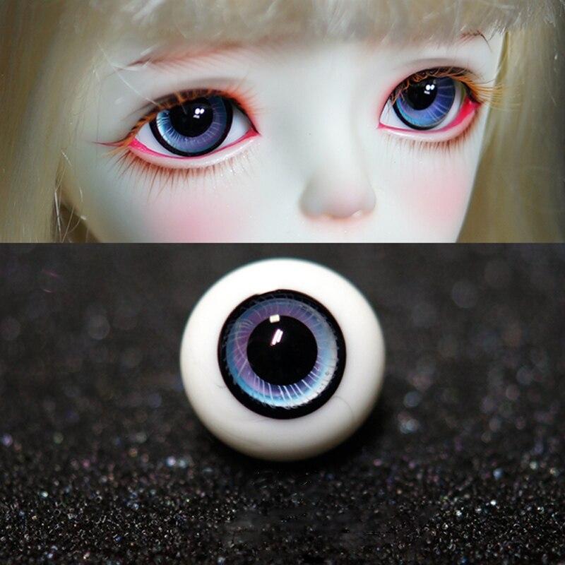 BJD Doll Glass Eyes 10mm 12mm 14mm 16mm For BJD Doll Accessories